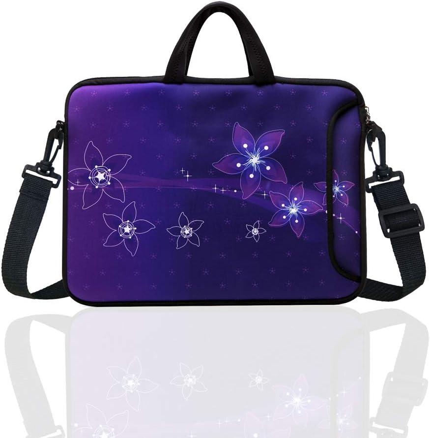 10-Inch Neoprene Laptop Tablet Shoulder Messenger Bag Case Sleeve for 9.7 10 10.1 10.5