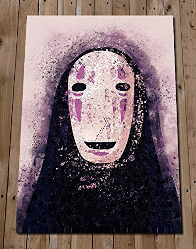 No Face Art Print - Studio Ghibli Spirited Away Poster - Studio Ghibli -