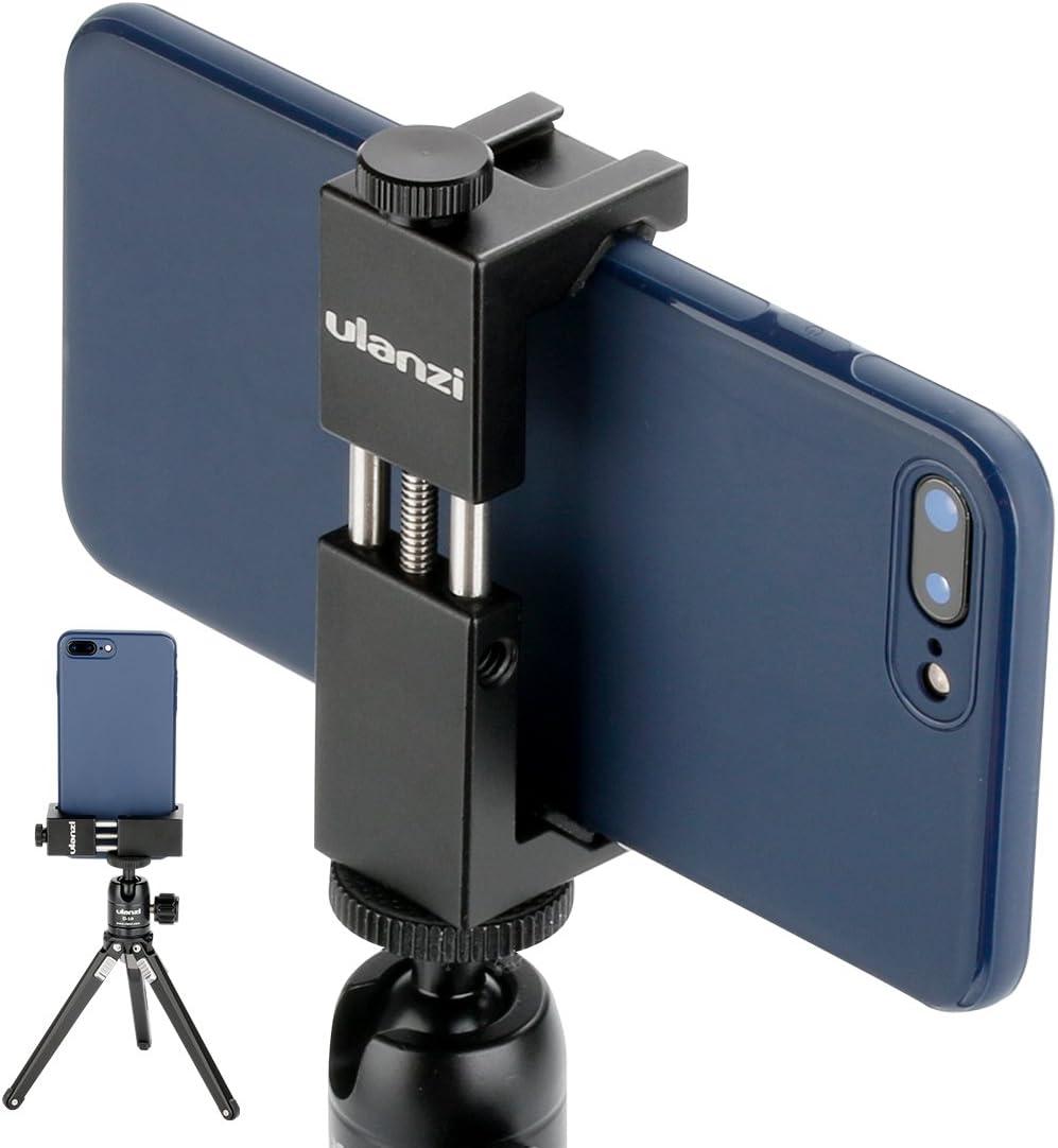 ULANZI ST-02S Soporte de trípode para teléfono de Aluminio con ...