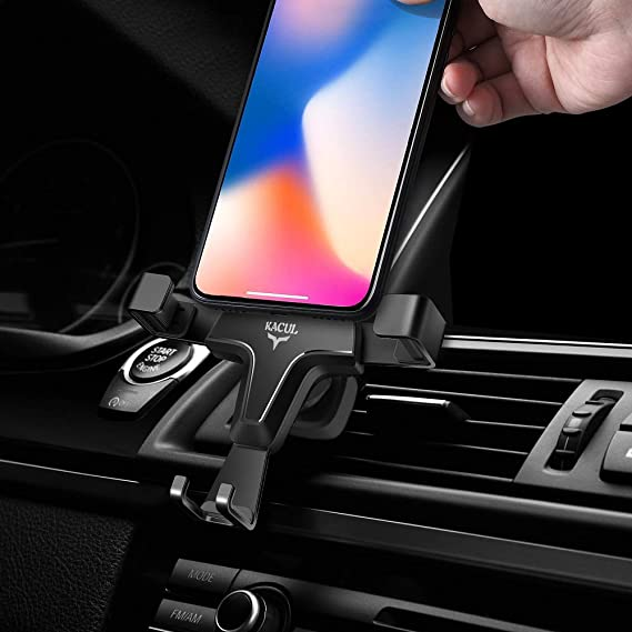 Amazon Com Car Phone Mount Kacul Gravity Auto Clamping Air Vent