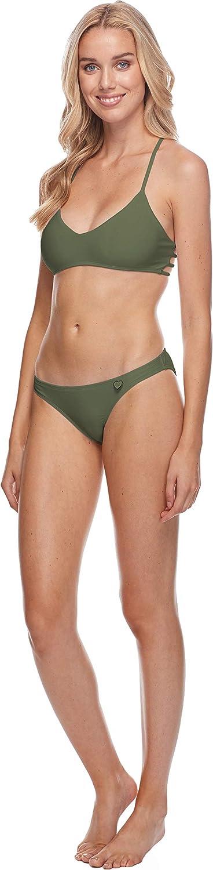 Body Glove Women's Smoothies Basic Solid Fuller Coverage Bikini Bottom Swimsuit Smoothies Cactus