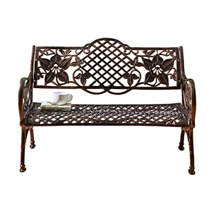 Swell Amazon Com Garden Benches Garden Bench Aluminum Carved Creativecarmelina Interior Chair Design Creativecarmelinacom