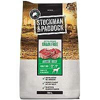 Stockman and Paddock Grain Free Dry Dog Food Beef, 20 Kilograms