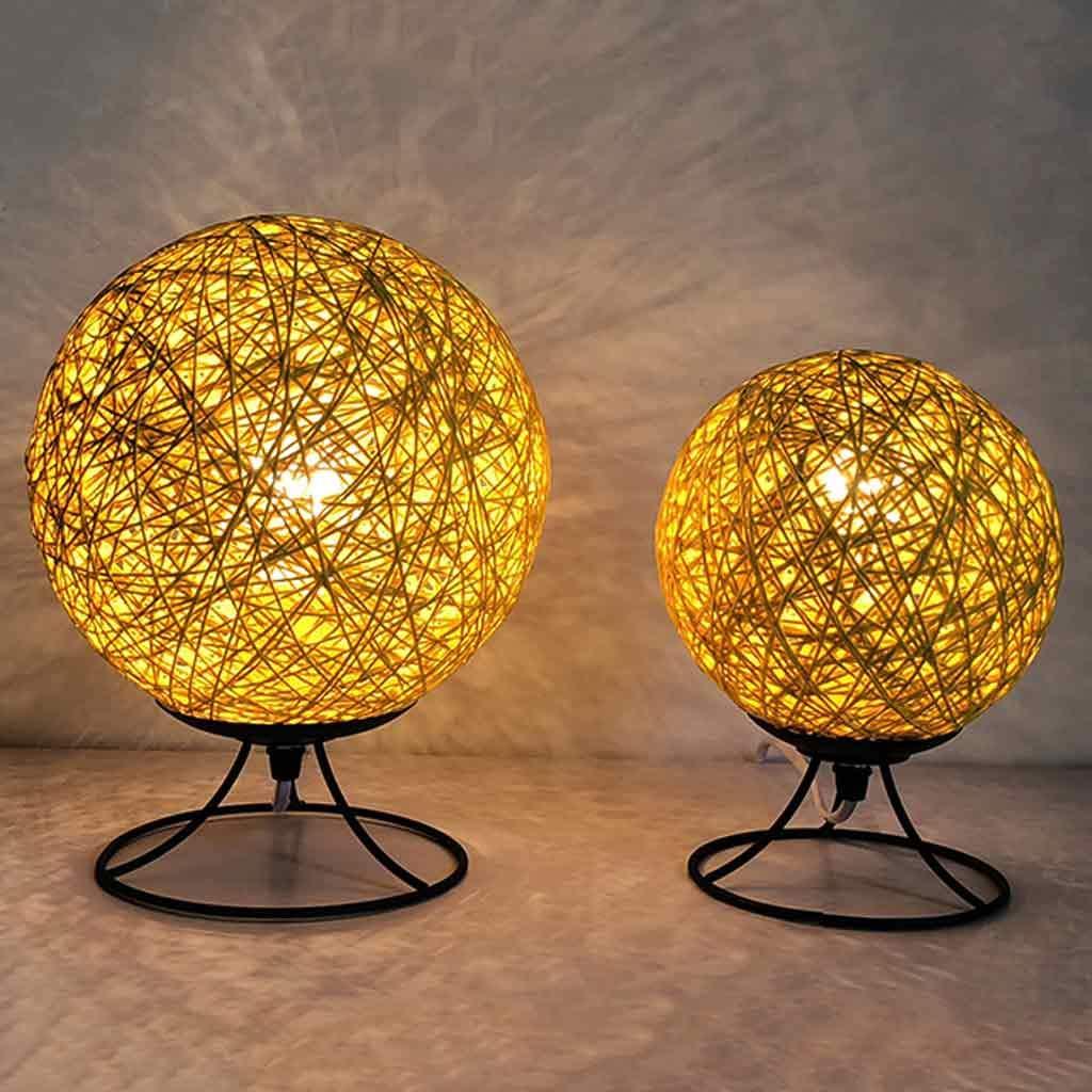 Lámparas Escritorio Lamp De Lámpara Hlhhl Iron Art Mesa 0wPO8kXNnZ
