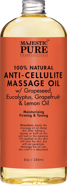 Anti Cellulite Treatment Massage Oil