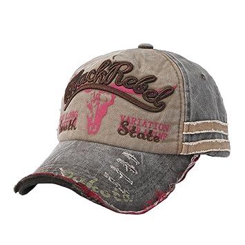 LMMVP Gorras Beisbol, Gorra para Hombre Mujer Sombreros de Verano Gorras de Camionero de Hip Hop Impresión Bordada, Talla única (B): Amazon.es: Deportes y ...