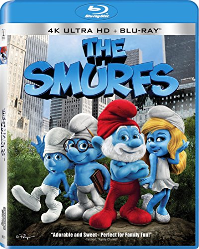 The Smurfs [Blu-ray] -  Rated PG, Raja Gosnell, Hank Azaria