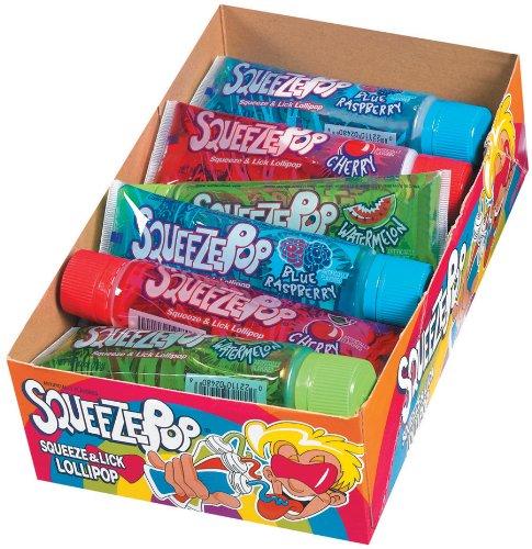 amazoncom hubba bubba squeeze pop assorted 4 oz sweet lollipops pack of 18 suckers and lollipops grocery u0026 gourmet food - Bubble Jug