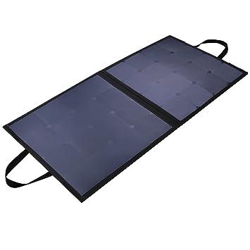 Aukey Cargador Solar 100 W Jet-Line Sunpower con panel solar para ...
