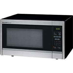 Sharp 1.1 Cu. Ft. 1000W Countertop Microwave, Microwave Oven