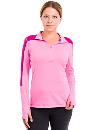 5d40f689 Amazon.com: Champion Women's Performax Quarter Zip Top: Clothing