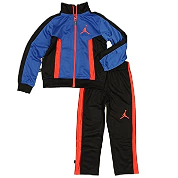 b7d197414 Image Unavailable. Image not available for. Color: Nike Air Jordan Baby  Jacket Tracksuit Pants Outfit Set ...