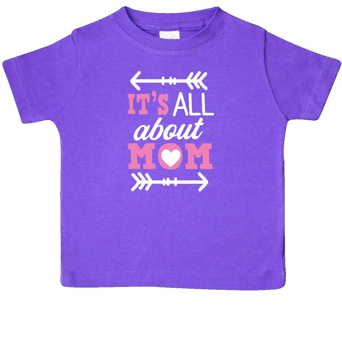 inktastic Its All About Mom with Arrows Mothers Day Baby T-Shirt