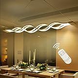 Suspension LED,Moderne LED Lustre, Suspendus Luminaire Plafond led Lampe,3000k-6000k,dimmable