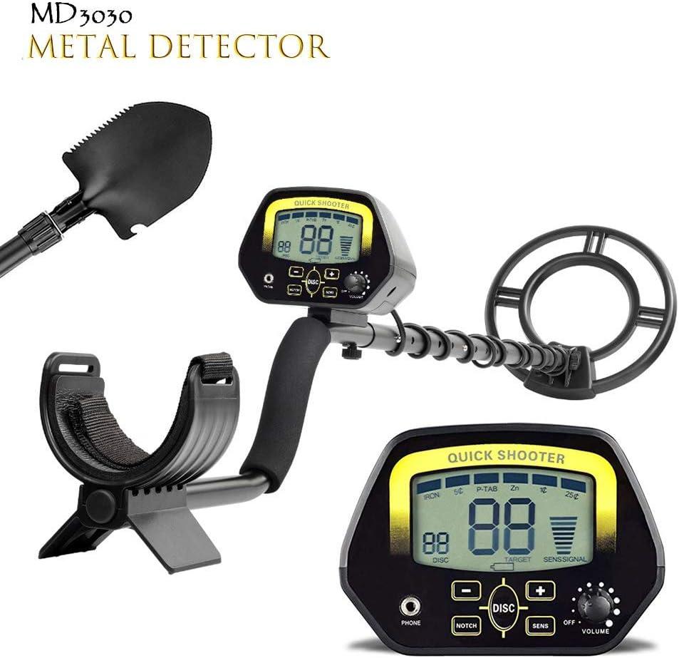 MD3030 Détecteur de Métaux LCD Sensitive Chasseur Bijoux Trésor or profondeur