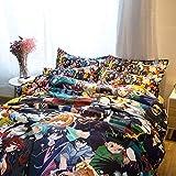 FJMM Fancrout Anime Bedding Sets 3D Print Big