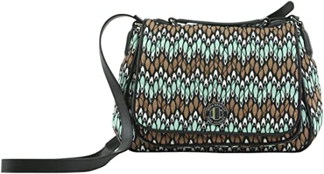 15ceb22c5459 Buy Amazing Vera Bradley Colorful Turnlock Crossbody Bag In Sierra Stream Online  at Low Prices in India - Amazon.in