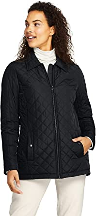 3X NWT Lands End Womens Plus Quilted Packable Barn Insulated Jacket 1X 2X