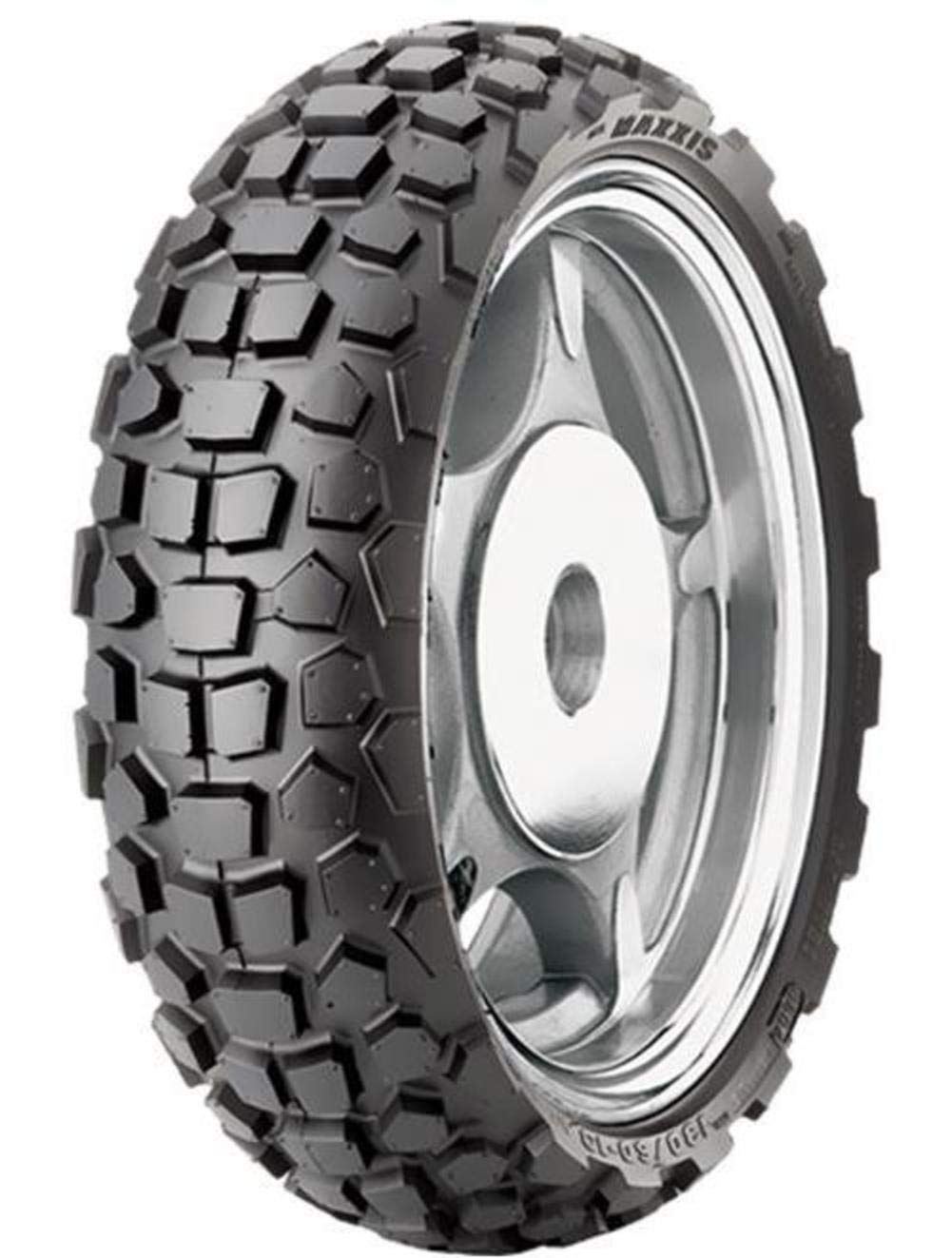 Maxxis TM13025100 M6024 Front/Rear Scooter Tire - 120/90-10, Position: Front/Rear, Tire Size: 120/90-10, Rim Size: 10, Load Rating: 57, Speed Rating: J, Tire Type: Scooter/Moped, Tire Construction: No 4333417835