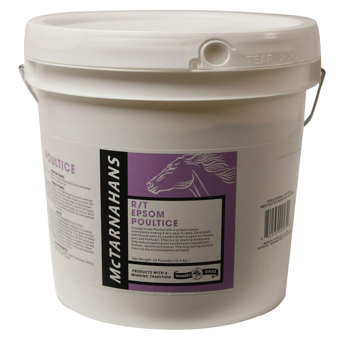 McTarnahans Epsom Poultice for Horses - 23 Pounds
