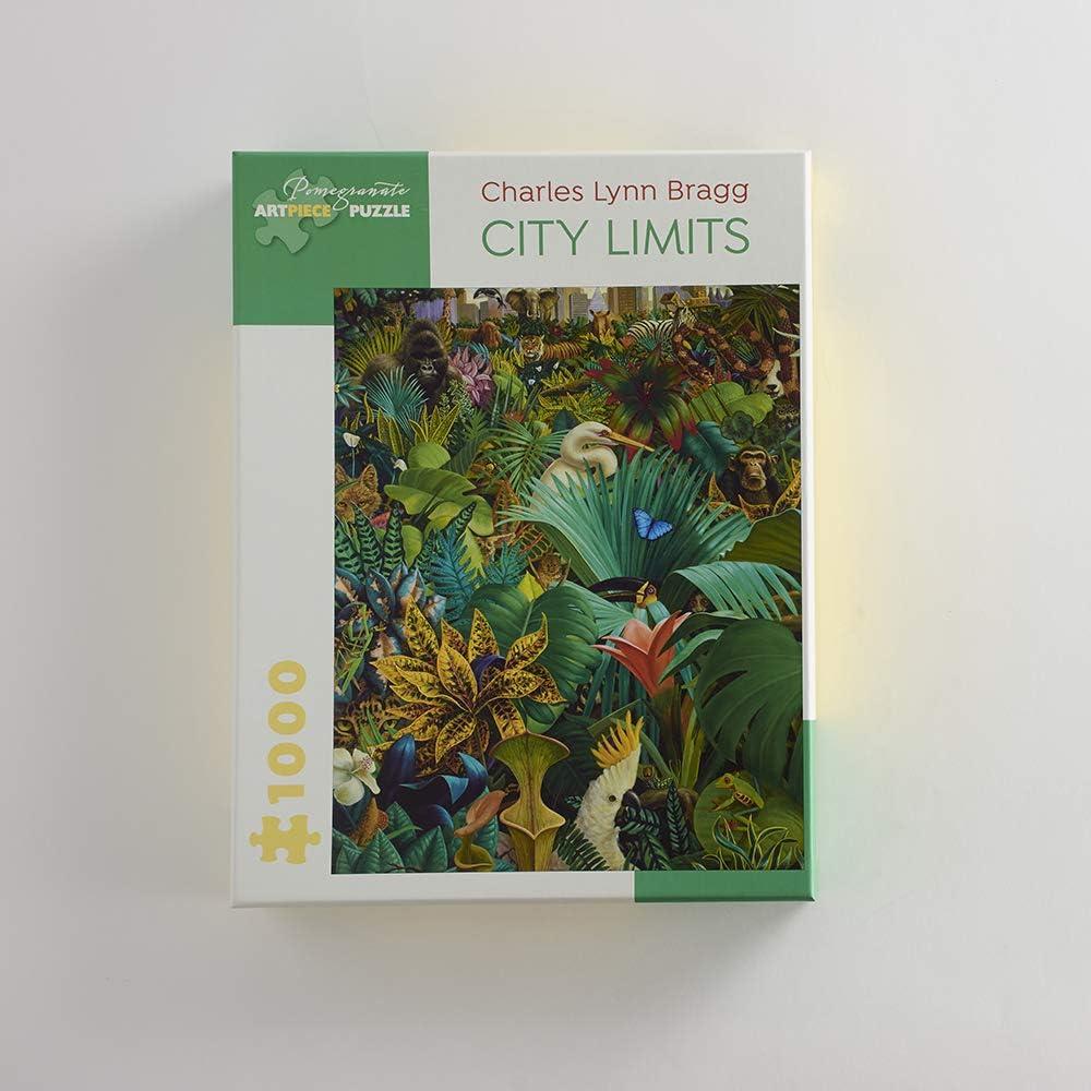 City Limits 1000-Piece Jigsaw Puzzle Charles Lynn Bragg