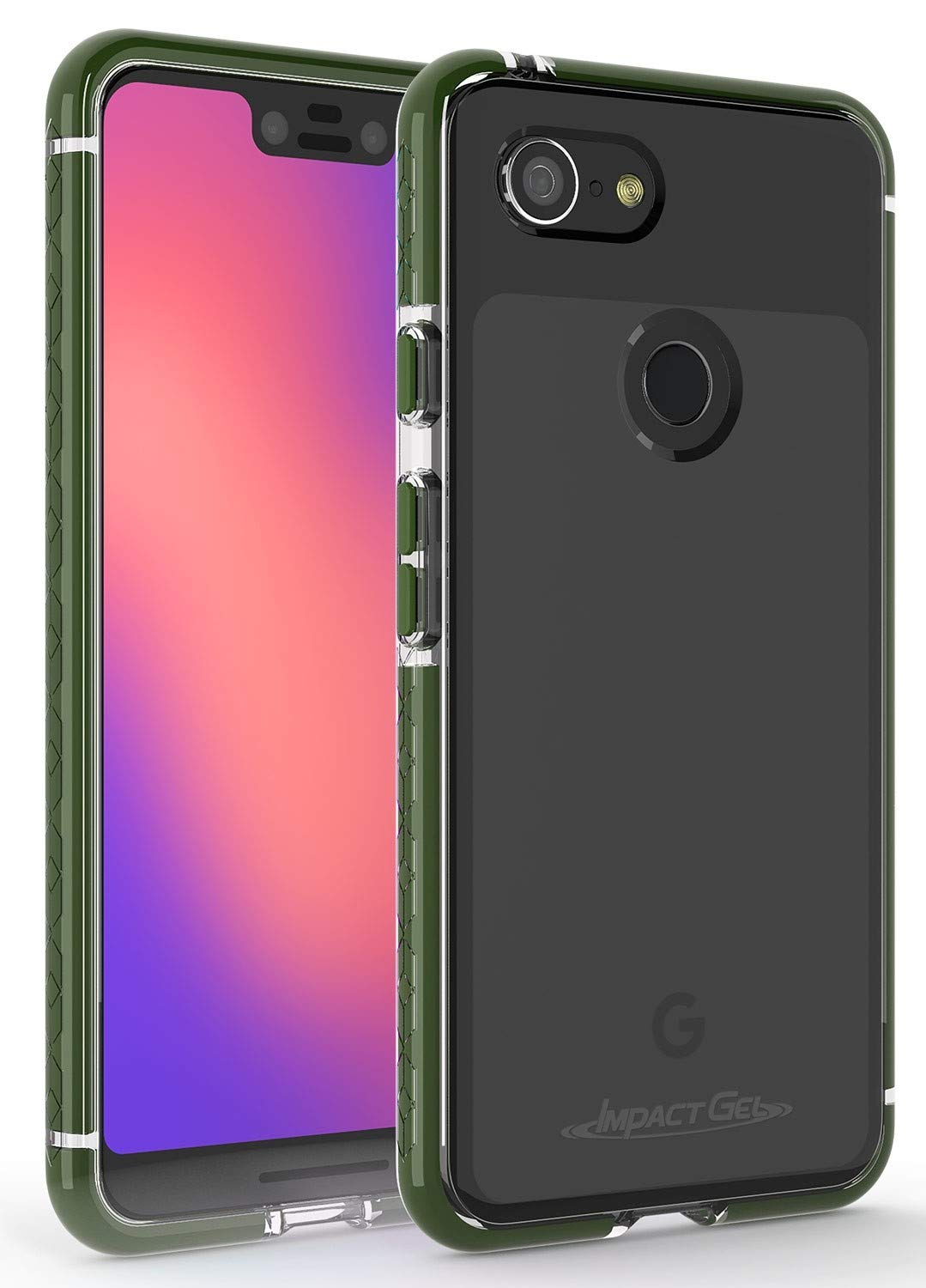 Amazon.com: Gel de impacto compatible con Google Pixel 3 XL ...