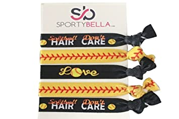 Amazon.com  Infinity Collection Softball Hair Accessories b7d7ecba9f0