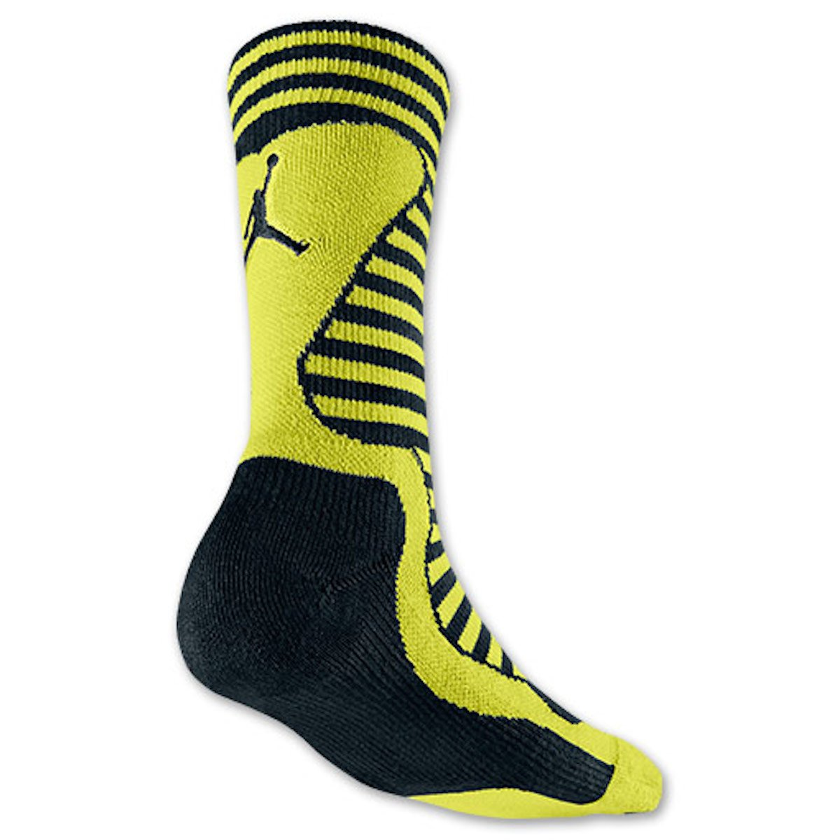 Amazon.com: [589046-013] AIR Jordan X Sneaker Socks Apparel Apparel AIR JORDANGREEN/Black: Sports & Outdoors