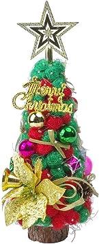 qiaoniuniu DIY Kit de árbol de Navidad Manualidades Arte Mini ...