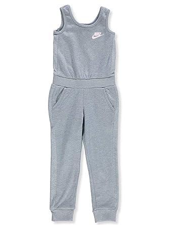 Nike Girls' Jumpsuit - Ashen, 5: Amazon