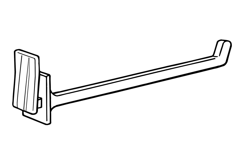 Pack of 3500 3 Length White 3 Length FFR Merchandising 7202205912 DH Display Hook
