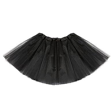 0d282cb3629440 AMORETU Femme Fille Jupe Tutu Tulle Princess étoile Paillettes Robe ...