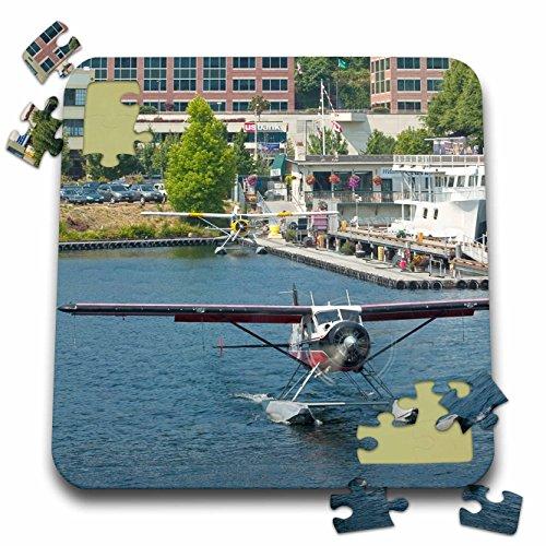 Dhc 2 De Havilland Beaver (Danita Delimont - Aviation - Washington, Seattle, DHC-2 MKI Beaver seaplane - US48 CCR0263 - Charles Crust - 10x10 Inch Puzzle (pzl_95226_2))