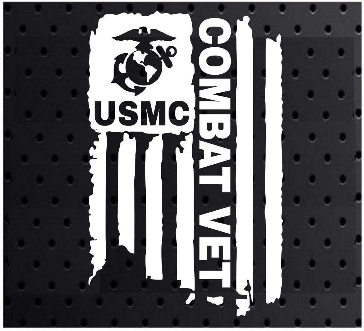 USMC  MOTORCYCLE HELMET REFLECTIVE DECAL.2 FOR 1 PRICE