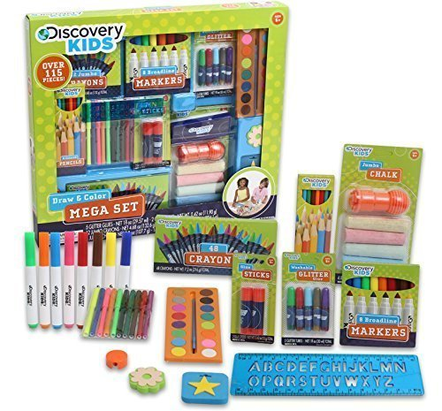 Discovery Kids Draw and Color Mega Set