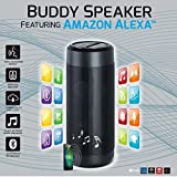 Premium Quality Bluetooth Wireless Speakers & Headphones. Indoor Outdoor Party Celebration. Use At Home, Office, Work, Also For College, Students, & Professionals (Alexa Technology Speaker, Black)