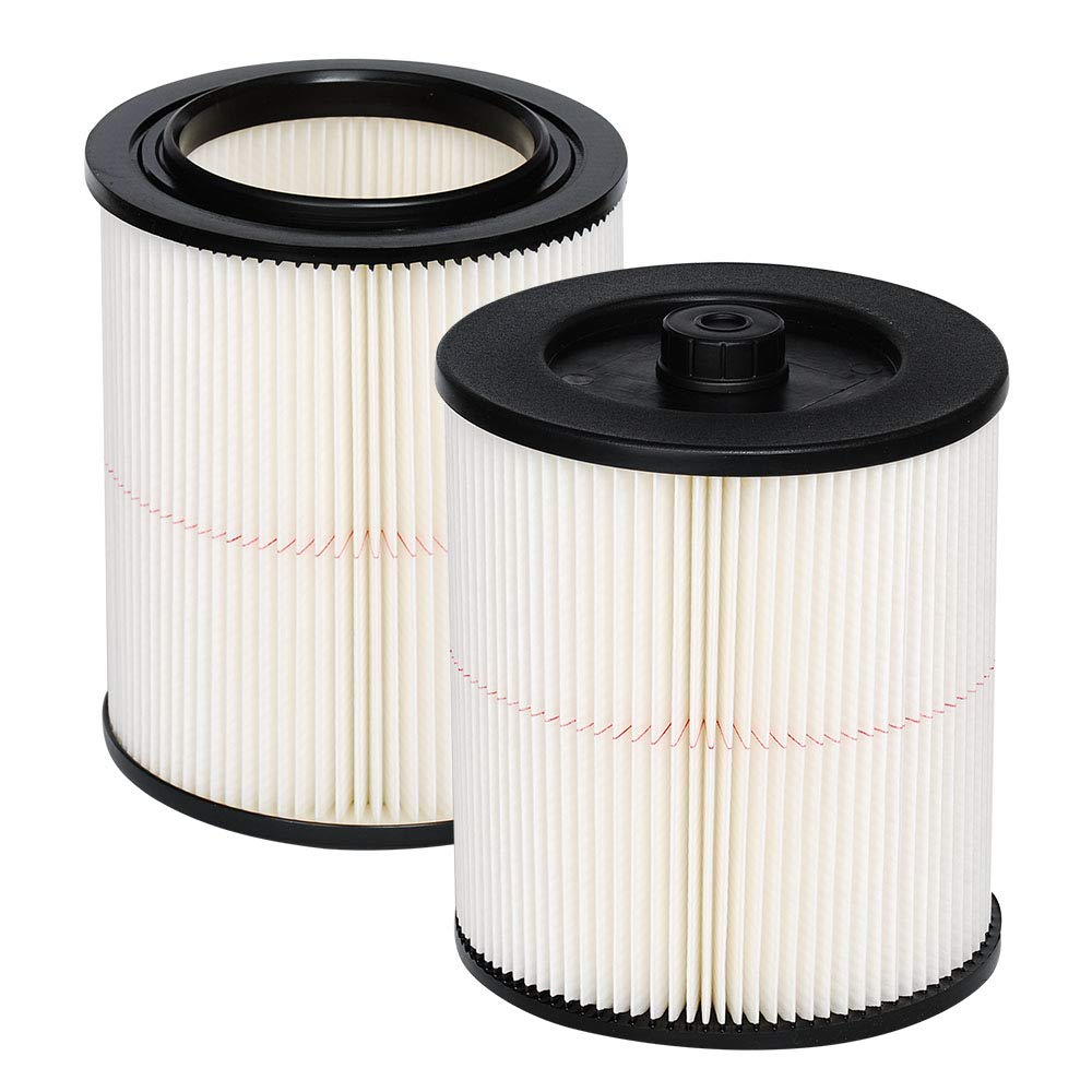 Eagles Pack of 2 Replacement Cartridge Filter Compatible with Shop vac Craftsman 17816 9-17816 Wet Dry Vacuum air Cleaner