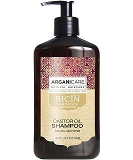 arganicare cuidado Evolution sin aclarado con el aceite de ricino. 400 ml