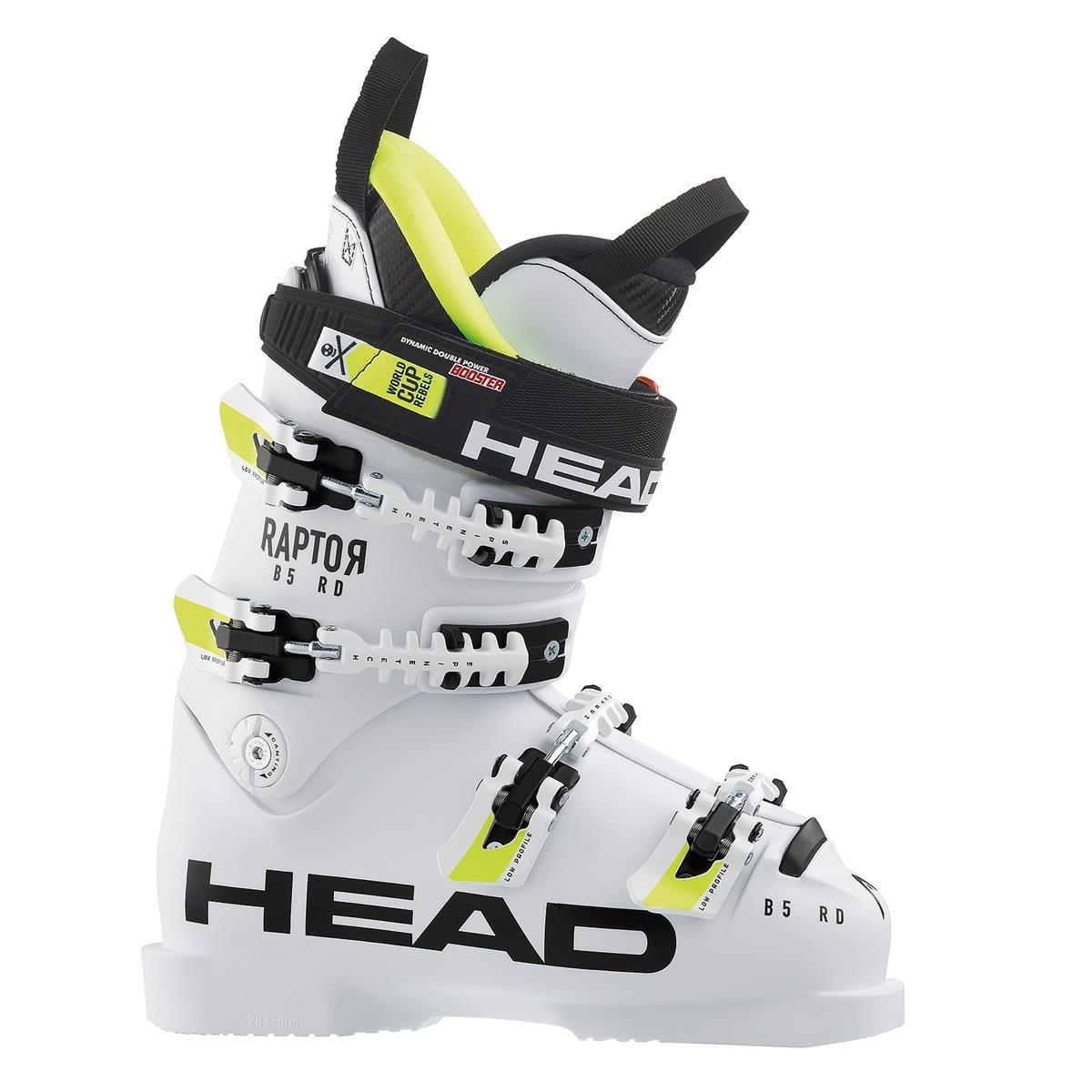 HEAD Raptor B5 RD ジュニアレースブーツ (11827) 25.5