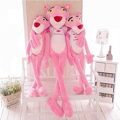JYCDD Convenient Pink Leopard Plush Toy Gift Pink Plush Toy Pink Leopard Plush Doll Exquisite Shape,80cm: Home & Kitchen