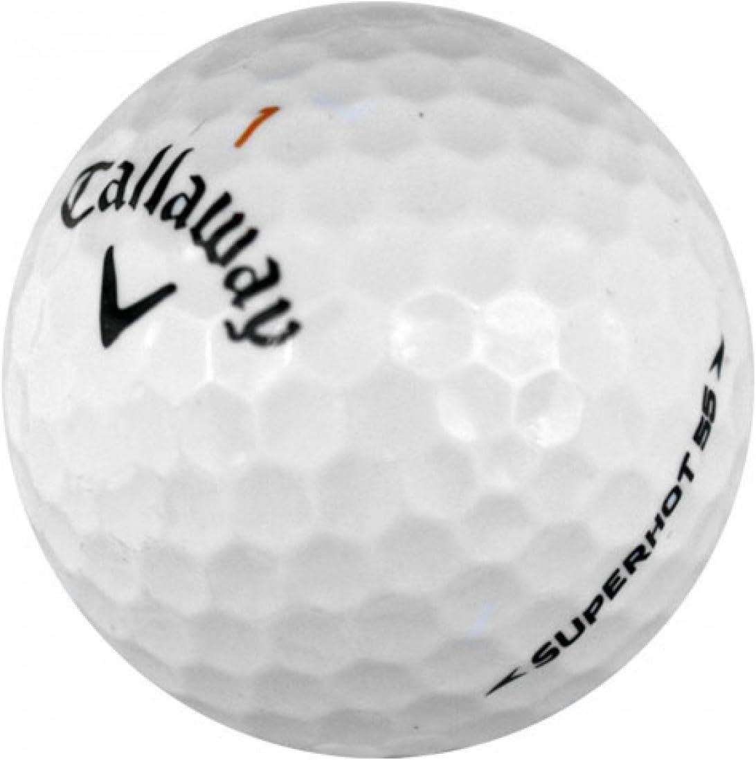 Callaway Superhot 55 Mint Quality Golf Ball (Pack of 24)