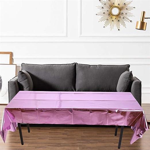 Brillante Rosa Oro Mantel Partido Fiesta Decoración Producto oro ...