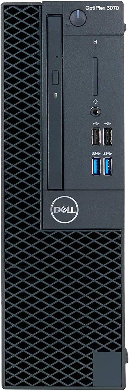 CUK OptiPlex 3070 SFF Desktop (Intel Core i9, 32GB DDR4 RAM, 1TB NVMe SSD + 2TB HDD, DVD-RW, Windows 10 Pro) Business PC Computer (Made_by_Dell)