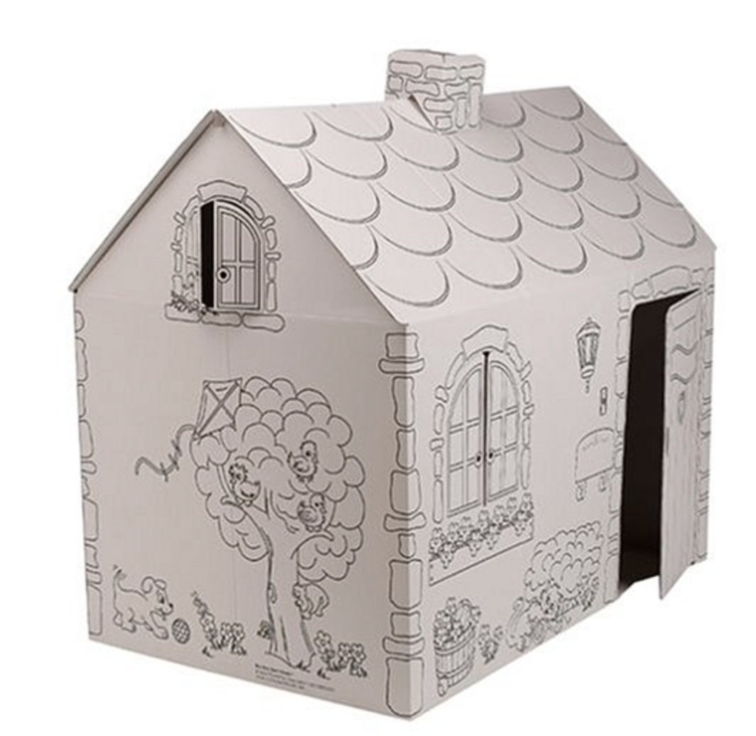 Amazon.com: My Very Own House Coloring Playhouse, Cottage: Toys & Games