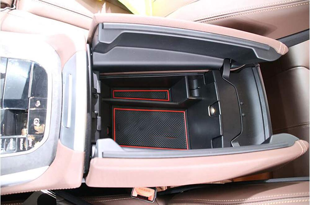 Salusy Center Console Armrest Storage Insert Organizer Tray Compatible for BMW X5 G05 2019