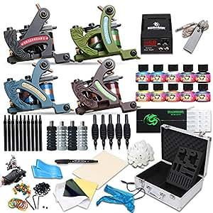 Dragonhawk complete tattoo kit 4 standard for Amazon tattoo machine