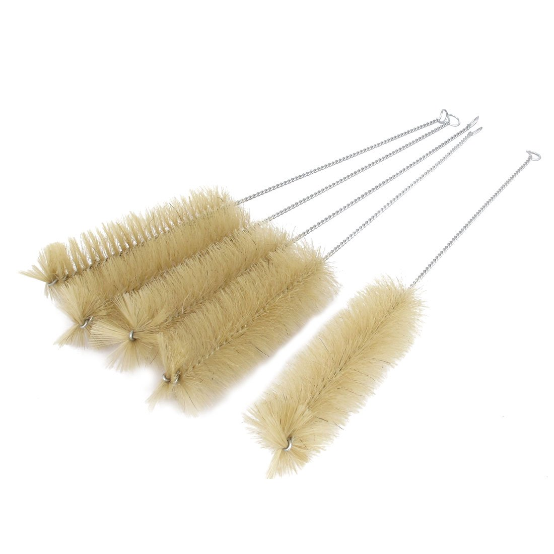 uxcell A15071500ux0843 36cm Long 5cm Dia Bristle Test Tube Bottle Cleaning Brush Cleaner 5pcs (Pack of 5)