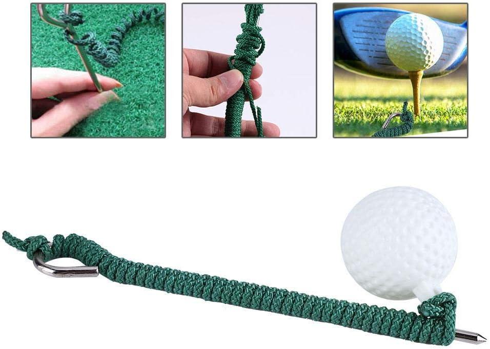 Fantástica Pelota de Espuma Fly Swing Training Cuerda Ball Al Aire Libre Club de Golf Accesorios de práctica
