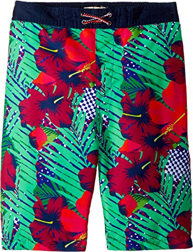 Hawaiian Print Swim Trunks (Appaman Kids Baby Boy's Hawaiian Print Swim Trunks (Toddler/Little Kids/Big Kids) Neotropics 8)