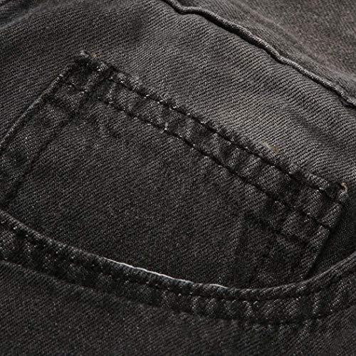 Vaqueros Ajustados Hombres De Dril De Pantalones Vaqueros Pantalones Vaqueros Hombres Hombres Dunkelgrau La Los Vaqueros del Destruidos Mezclilla Pantalones Delgados De Ropa Ajustados ADELINA Pantalones Rv5wqpgnxq